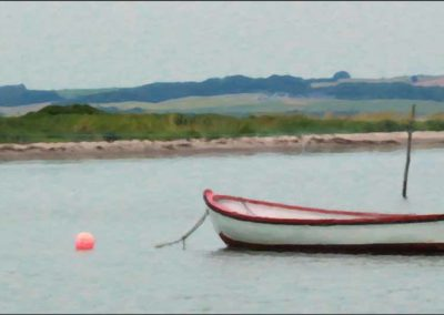 Båd på Flakket